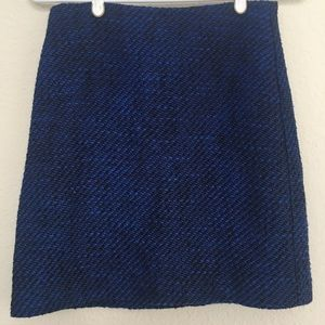 LOFT knit mini skirt